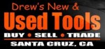 Drew's New and Used Tools logo