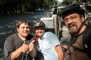 Steve-O, Dawn & John
