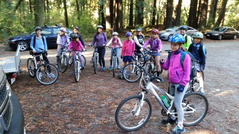 Girl Scouts Troop 10423 ready to ride